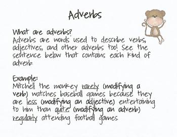 Adverb Practice