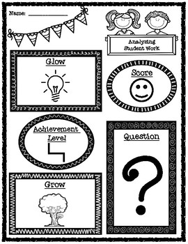 Student to Student Feeedback Handouts and Graphic Organizer