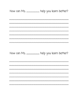 Student to Teacher Feedback
