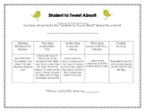 Student to Tweet About- Bird Theme Student of the Week