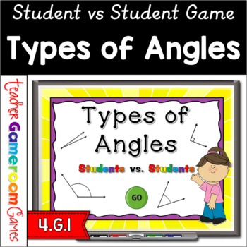 Student vs Student - Types of Angles Powerpoint Game
