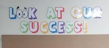Student work/success display