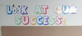 Student work/success display