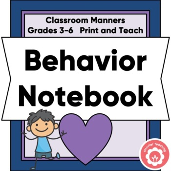 Behavior Plan Notebook Grades 2-6