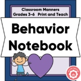 Behavior Notebook Grades 2-6