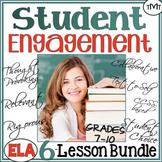 Student ♥ Engagement Bundle of Language Arts Lessons for M