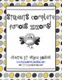Students Complete Famous Idioms