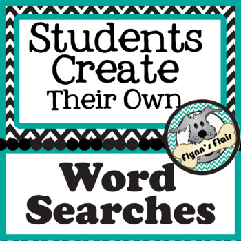 Students Create Their Own Word Searches