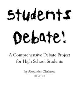 Students Debate! Notebook Presentations