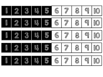 1-20 Number Paths
