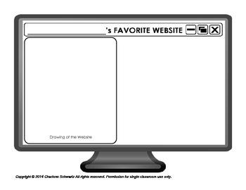 Student's Favorite Computer Websites Report