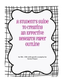 Student's Guide to Creating an Effective Research Paper Outline