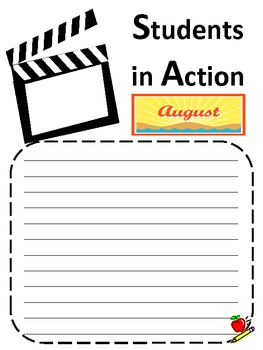 Students In Action Reflection Journal
