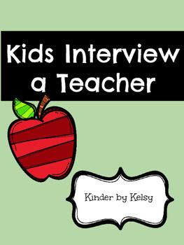 Students Interview a Teacher