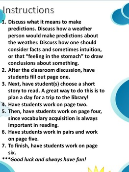 Students Love to Read: Making Predictions
