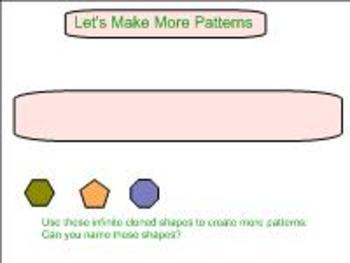 Students Make Patterns