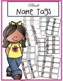 Blank Name Tags
