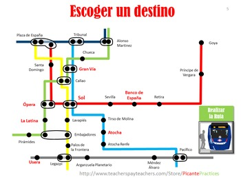 Kids Practice Giving Directions & Culture on Madrid 'Metro' Train Simulator!