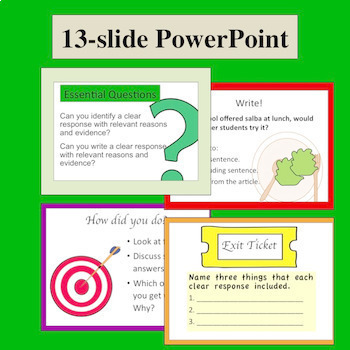 Students Get to Grade- Using Text Dependent Questions