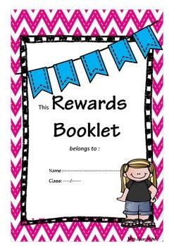 Students Rewards booklet