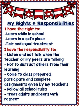 Students Rights & Responsibilities