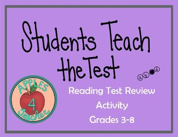 Students Teach the Test: Reading Test Review Activity