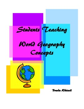Students Teaching World Geography Concepts