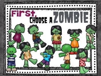Students VS. Zombies!!!  Interactive PDFs, Flashcards & Worksheets {BUNDLE}