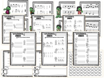Students VS. Zombies!!!  Interactive PDFs, Flashcards & Worksheets for {low so}