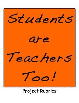 Students are Teachers Too!