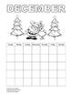 Student calendar (English) / Calendario para los estudiantes (inglés)