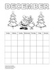 Student calendar (English) / Calendario para los estudiant