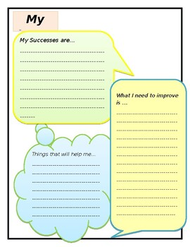 Students' learning reflection