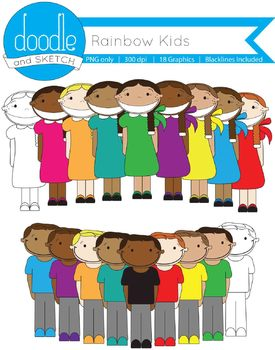 Students of all Types {Rainbow Variety}