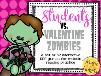 Students vs. Valentine Zombies {27 interactive games for M