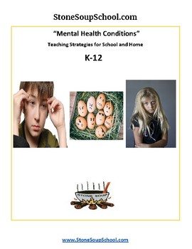 Mental Health Conditions Teaching Strategies
