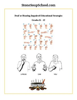 Teaching Strategies for Deaf or Students Hard of Hearing