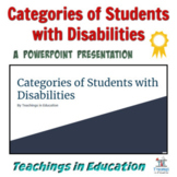 Students with Disabilities: Special Education Categories