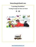 Learning Disabilities Teaching Strategies