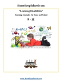 LD - Learning Disabilities Teaching Strategies