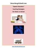 """Speech Disorders"" Teaching Strategies For Home or School"