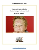 TBI - Traumatic Brain Injuries Teaching Strategies