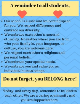 Students, you belong here...
