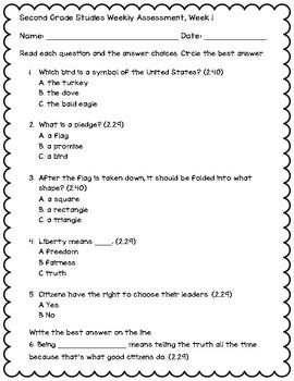 Studies Weekly Assessment