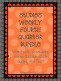 Studies Weekly Fourth Quarter Bundle - Vocab, Questions, S