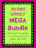 Studies Weekly Full Year MEGA Bundle - Vocab, Questions, Study Guides, Tests