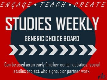 Studies Weekly Generic Choice Board