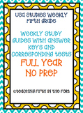 Studies Weekly Study Guides and Tests - FULL YEAR Weeks 1-