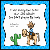 Studies Weekly Texas Edition-- YEAR LONG BUNDLE-3rd Grade