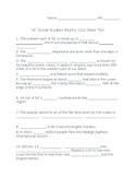 Studies Weekly Week Two Quiz
